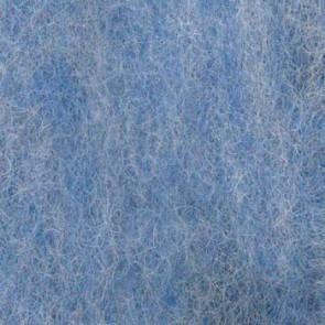 Wolle zum Filzen hellblau meliert 50 g