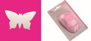 Motivstanzer L Schmetterling  3,5 x 2,1 cm