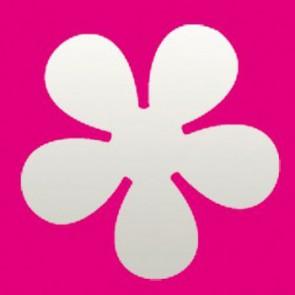 """Motivstanzer XL Retro Blume  5,0 cm"""""""