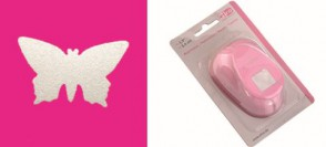 Motivstanzer XXL Schmetterling  6,9 x 4,1 cm
