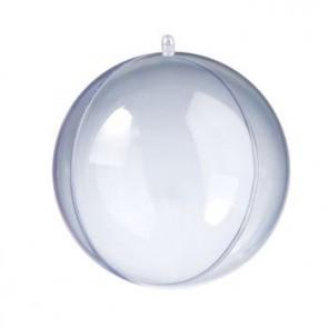 Kunststoffkugel glasklar teilbar (PS) 160 mm