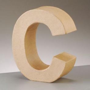 Pappbuchstabe C H 5 x B 4,5 x T 2 cm