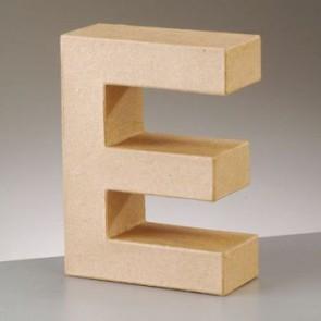 Pappbuchstabe E H 5 x B 4 x T 2 cm