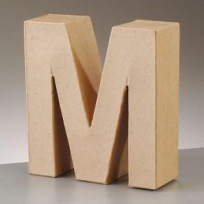 Pappbuchstabe M H 5 x B 5 x T 2 cm