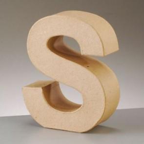 Pappbuchstabe S H 5 x B 4,3 x T 2 cm