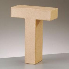 Pappbuchstabe T H 5 x B 4,3 x T 2 cm