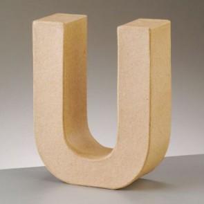 Pappbuchstabe U H 5 x B 4,1 x T 2 cm