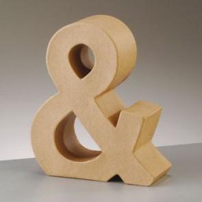 Pappzeichen - & - H 10 x B 8,5 x T 3 cm