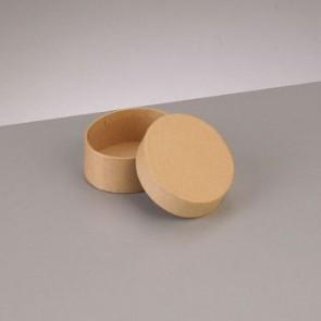 Box Oval flach 6,5 x 5,5 x H 2,7 cm