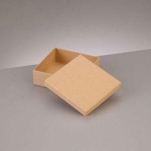 Box Quadrat flach 10,5 x 10,5 x H 3,6 cm