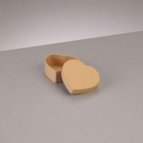 Box Herz flach 6,5 x 6 x H 2,7 cm