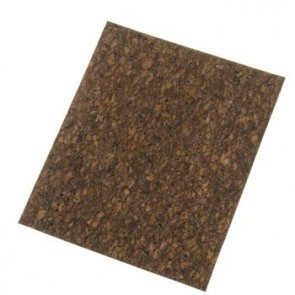 Korkstoff Marron  45 x 35 cm 0,8 mm