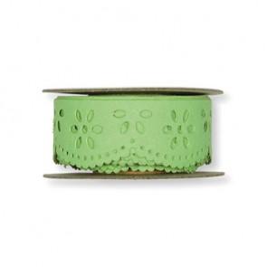 Papier-Klebeband Spitze  20 mm x 3 m  hellgrün