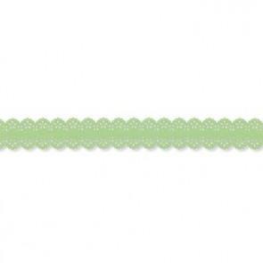 Papier-Klebeband Spitze  26 mm x 3 m  hellgrün