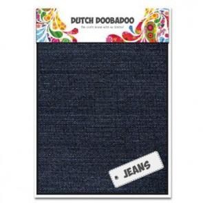 Dutch Doobadoo Jeans dark A5 2 Stk. dunkelblau
