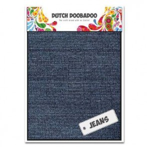 Dutch Doobadoo Jeans medium A5 2 Stk. mittelblau