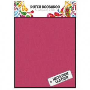 Dutch Doobadoo Imitation leather Pink A5 2 Stk. pink