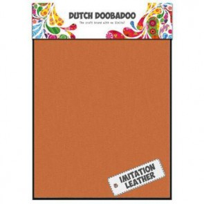Dutch Doobadoo Imitation leather Orange A5 2 Stk. orange