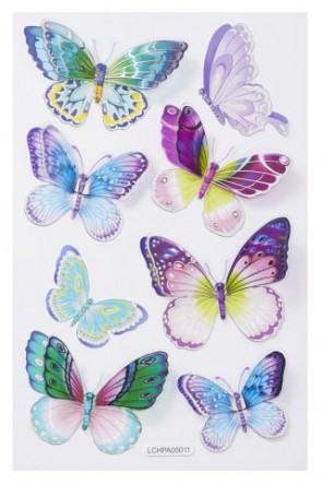 Sticker Schmetterling VI