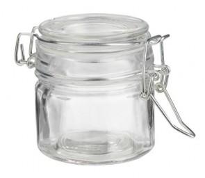Deko-Glas rund, 7 x 5,8 cm