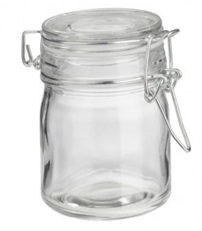 Deko-Glas rund, 9,4 x 5,8 cm