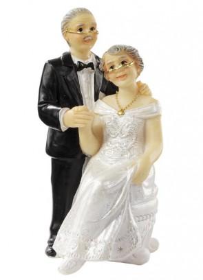 Hochzeitsfigur  Hochzeitspaar  ca. 7,5 cm