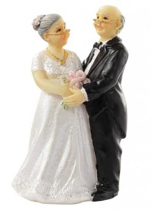 Hochzeitsfigur  Hochzeitspaar  ca. 7 cm