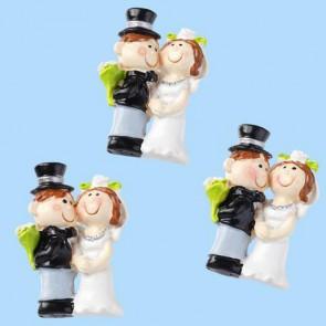Hochzeitsfigur  Hochzeitspaar I  3 cm