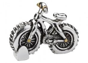 Bike ca. 6 cm, silber