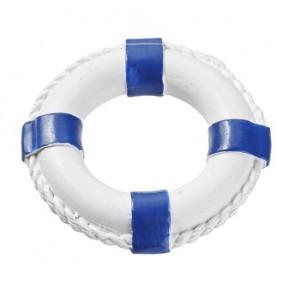 Rettungsring 4,5 cm blau-weis