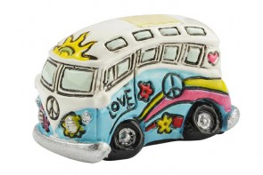 Flower-Power Bus ca. 3,8 x 2