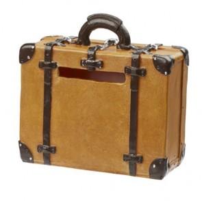 Koffer Spardose, 8 x 3,5 x 6,5 cm