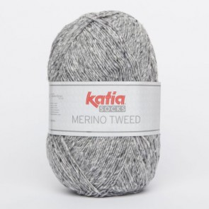 MERINO TWEED SOCKS 52 100g hellgrau