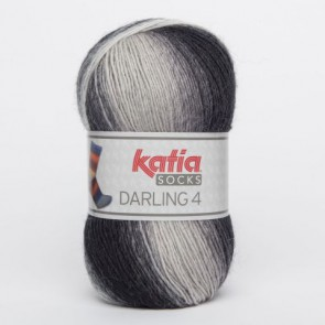 DARLING 4 Socks 60 100g grau