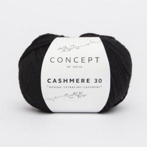 CASHMERE 30 209 25g schwarz