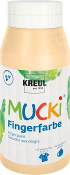 MUCKI Fingerfarbe Hautfarbe 750 ml