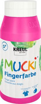 MUCKI Fingerfarbe Pink 750 ml