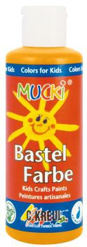 MUCKI Bastelfarbe Orange 80 ml