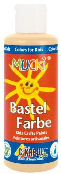 MUCKI Bastelfarbe Hautfarbe 80 ml