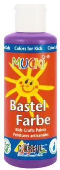 MUCKI Bastelfarbe Violett 80 ml