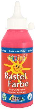 MUCKI Bastelfarbe Karminrot 250 ml
