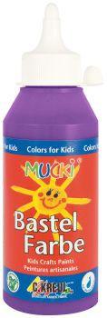 MUCKI Bastelfarbe Violett 250 ml