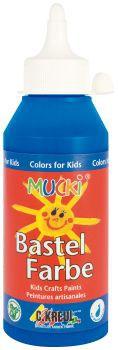MUCKI Bastelfarbe Dunkelblau 250 ml