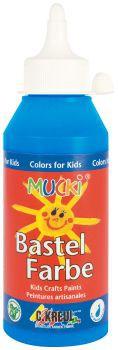 MUCKI Bastelfarbe Primärblau 250 ml