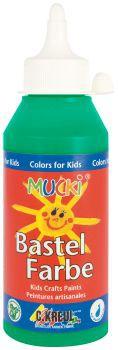 MUCKI Bastelfarbe Grün 250 ml