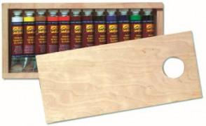 SOLO GOYA Feinste Künstler-Ölfarben Sortimentm. 12 Tb. 20 ml
