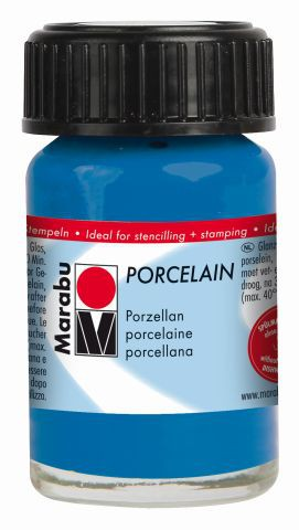 Marabu-Porcelain 057, 15 ml enzian