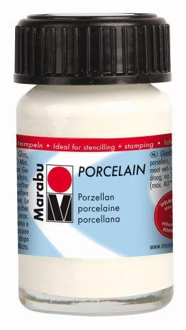 Marabu-Porcelain 070, 15 ml weiss