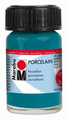 Marabu-Porcelain 092, 15 ml petrol