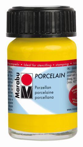 Marabu-Porcelain 220, 15 ml sonnengelb